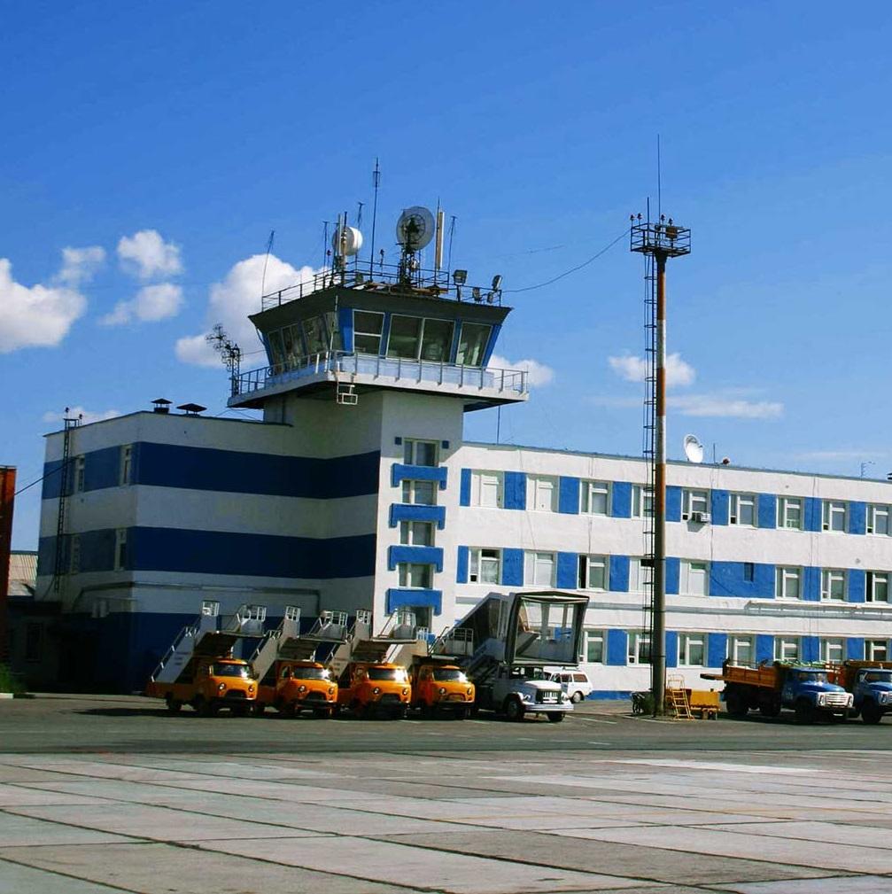Реконструкция аэропорта г. Новый Уренгой