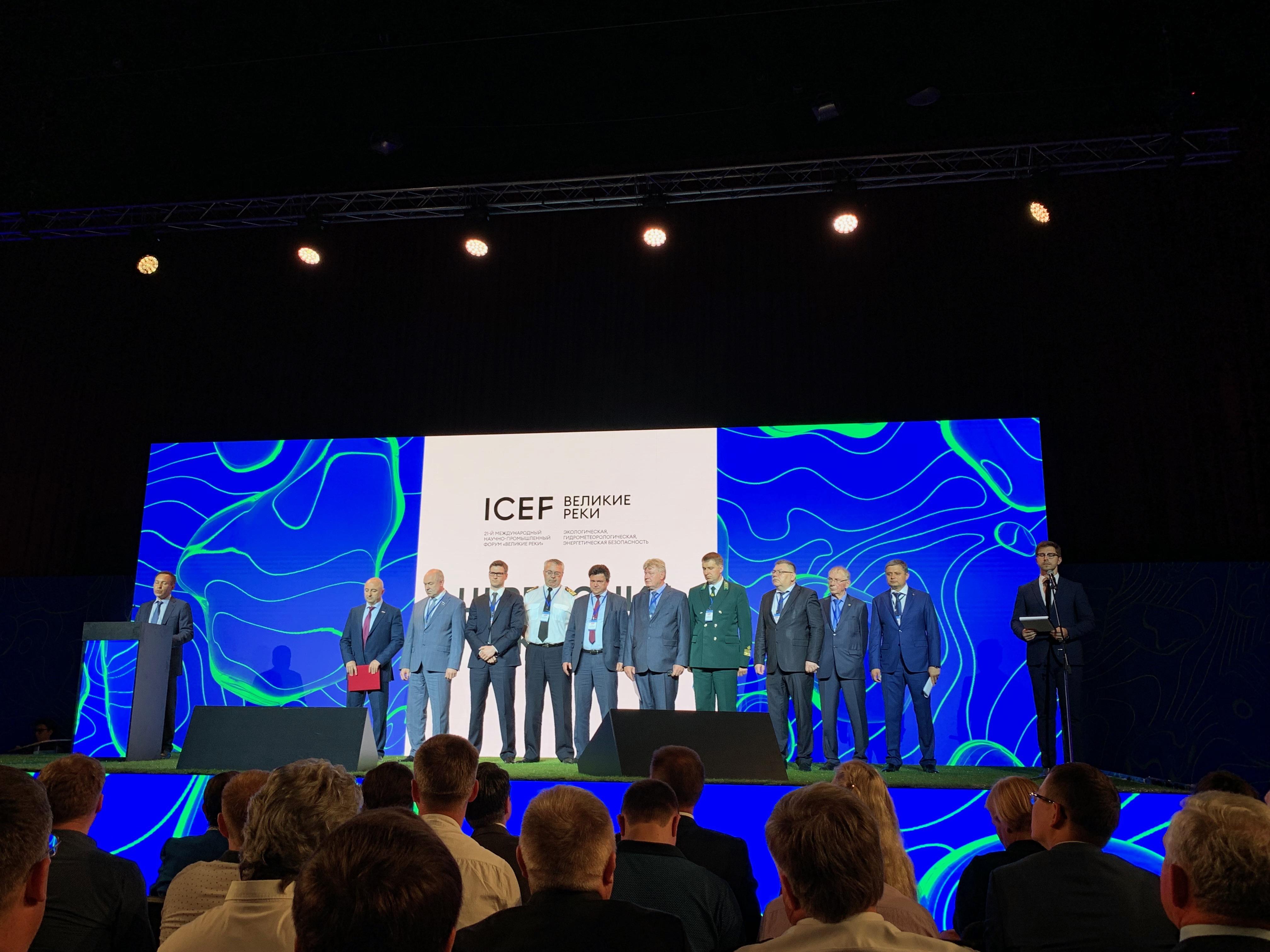 «Проектный мастер» принял участие в форуме «Велики реки 2019»
